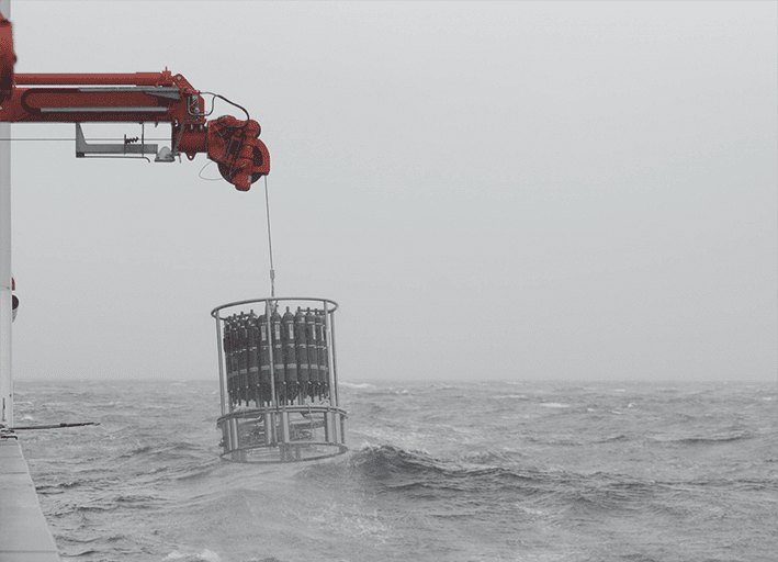 12.01.21 | CTD launch and retrieval in a rough seas!