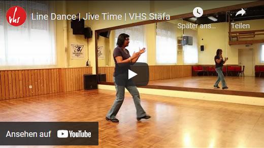 Line Dance | Jive Time | VHS Stäfa