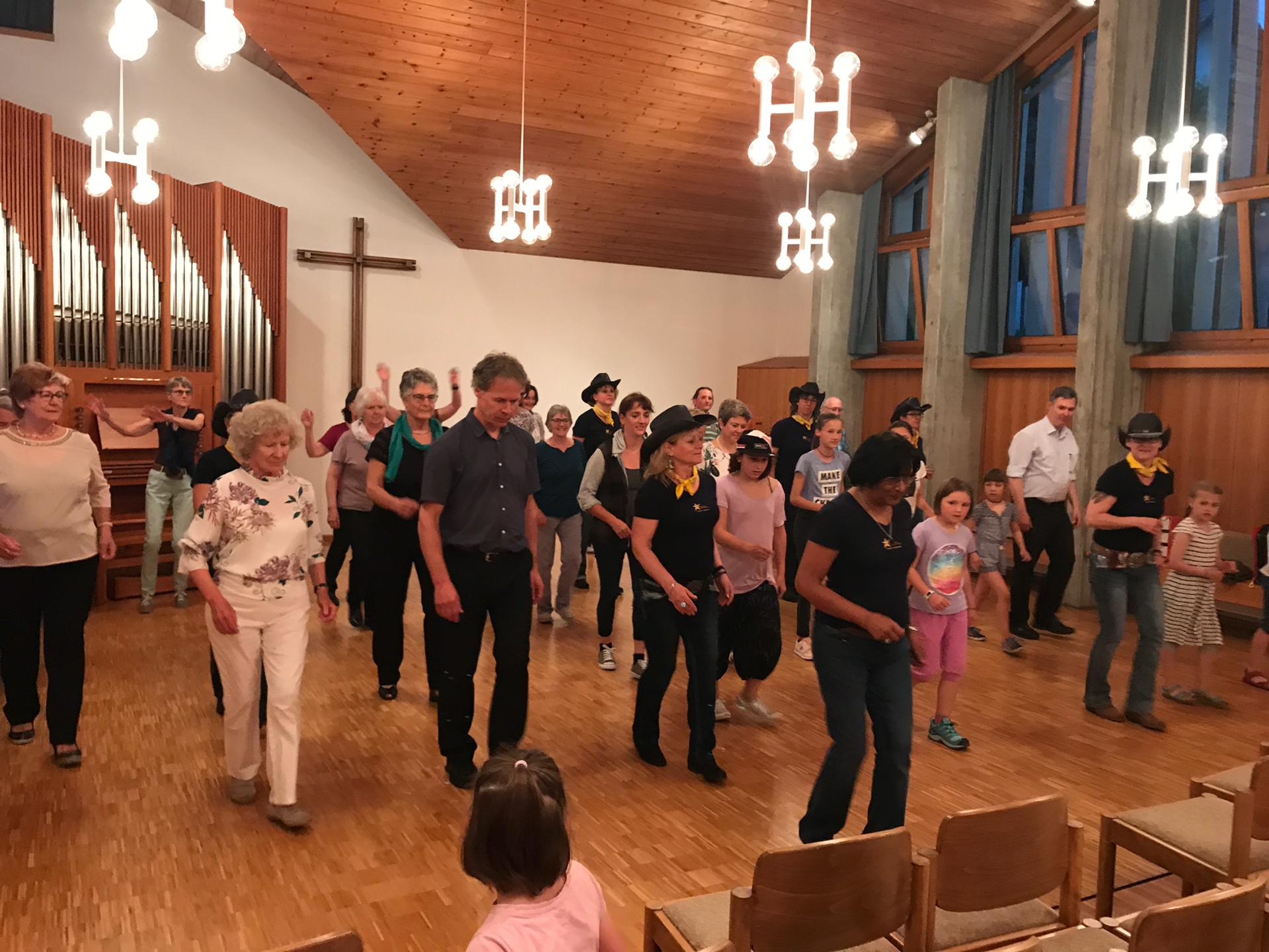 Auftritt am Ökumenischen Kirchenzentrumfest in Ehrendingen - 15.06.19
