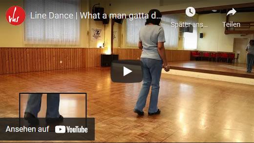 Line Dance | What a man gatta do | VHS Stäfa