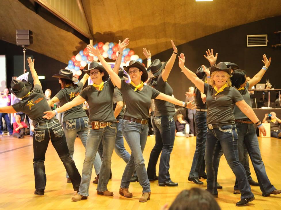 Auftritt an der grössten Line Dance Party der Schweiz - 18.01.20