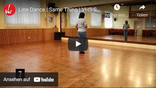 Line Dance | Same Thing | VHS Stäfa