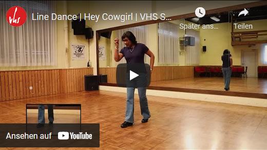 Line Dance | Hey Cowgirl | VHS Stäfa