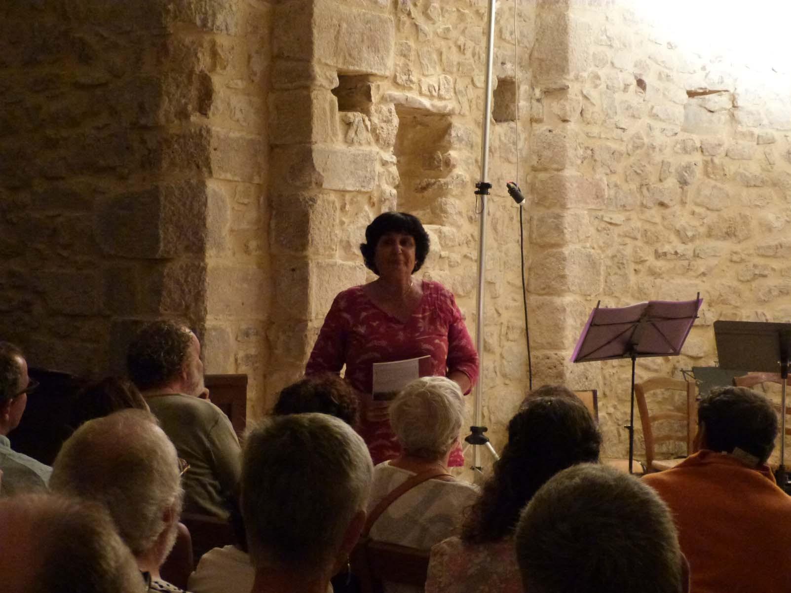 Concert des professeurs et des classes de Maître - Vendredi 28 août - Chapelle romane de St Croix de Caderle