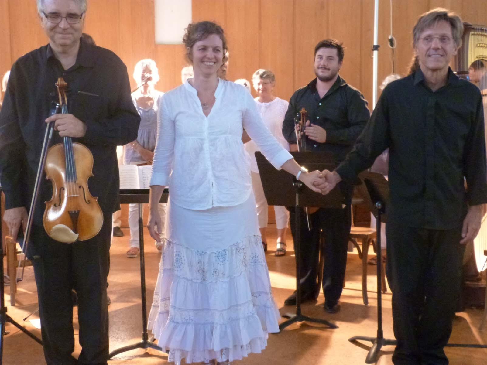 Pierre-Henri Xuéreb, Alto, Karen Kapferer, Direction et Fabrice Pierre, Harpe