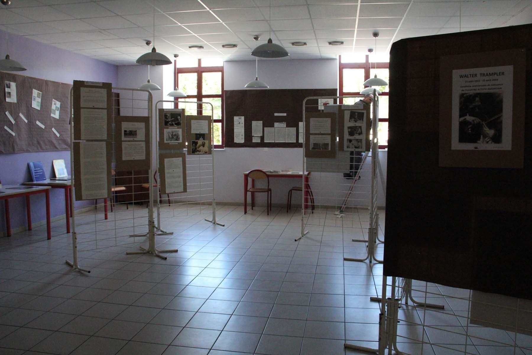 """""""HOMMAGE"""" à Walter Trampler - Mercredi 26 août - École primaire de Lasalle"""