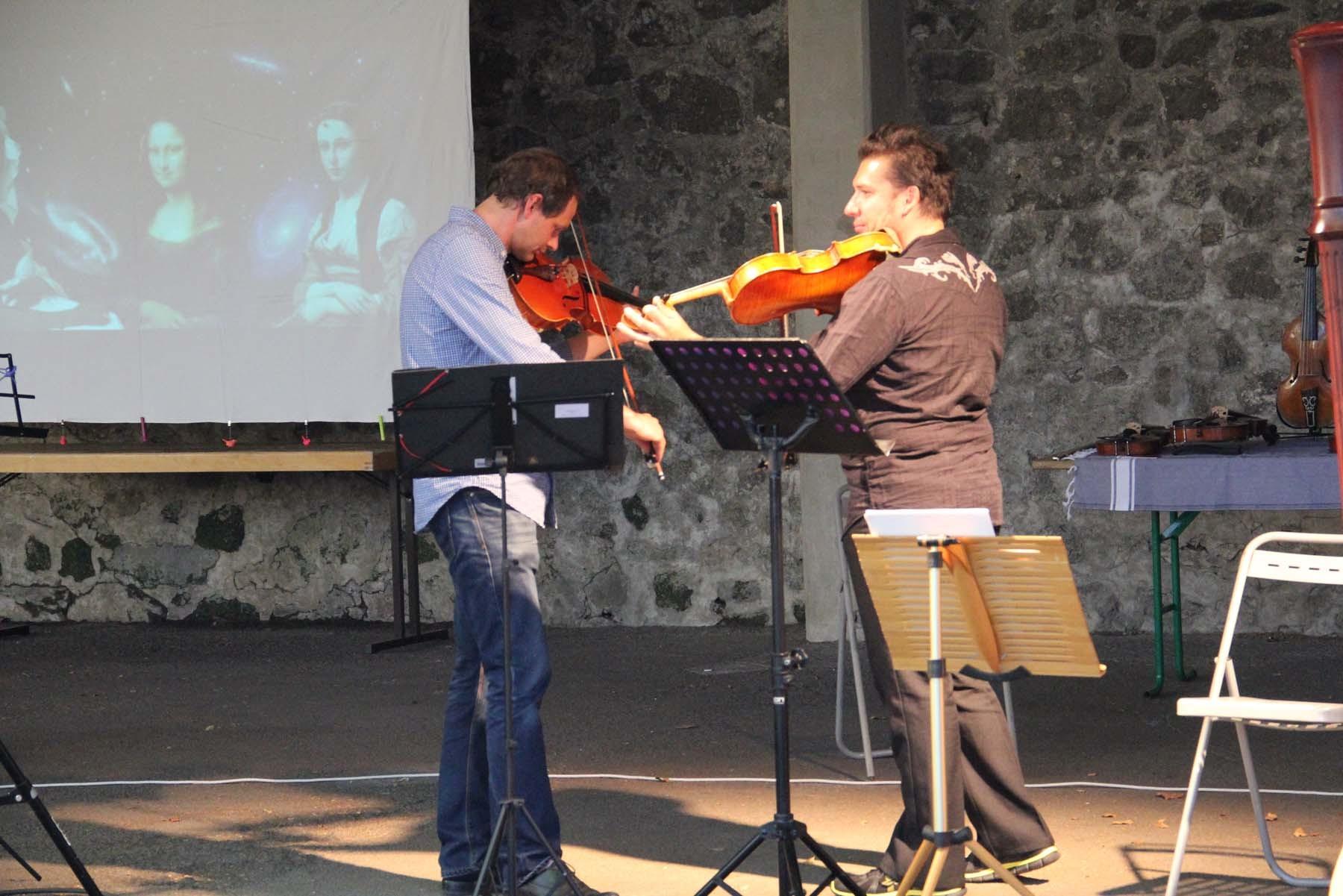Duo d'Altos : Jean Philippe Gandit et Aurélien Petillot
