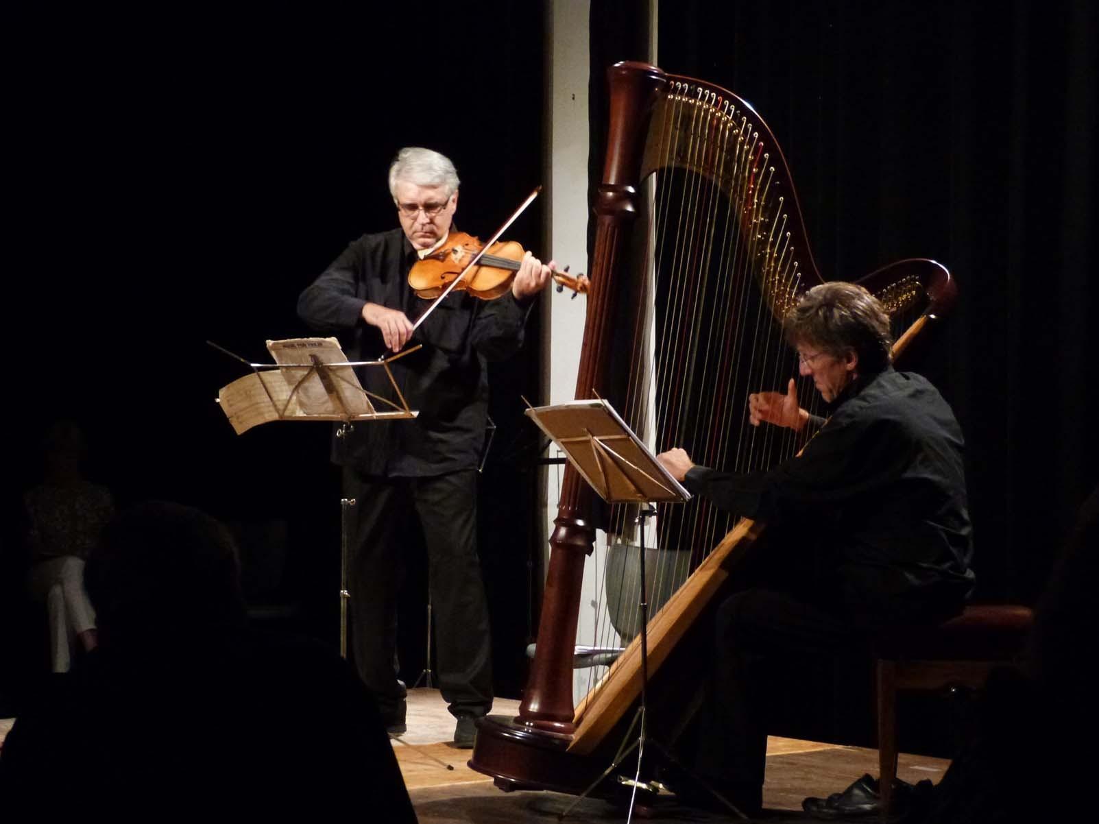 Pierre-Henri Xuéreb, Alto / Fabrice Pierre, Harpe