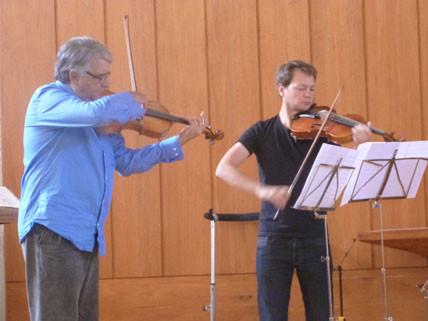 Pierre-Henri Xuereb et Julien Dabonneville