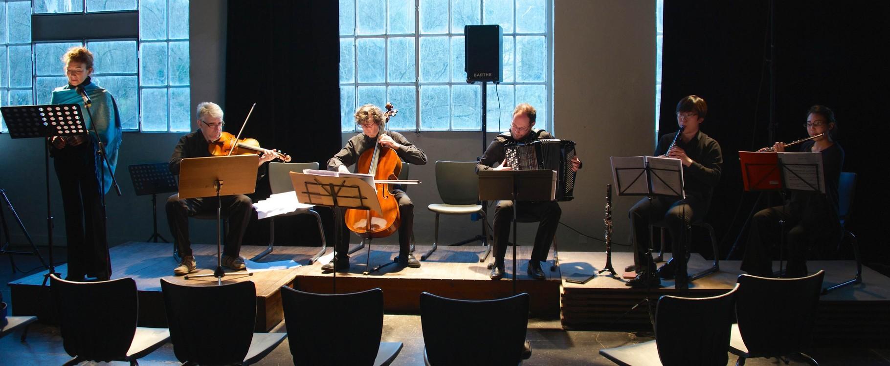Opération Jeunes Talents, Concerts du 16 Mars 2015 à Lasalle, à la Filature du Pont de Fer