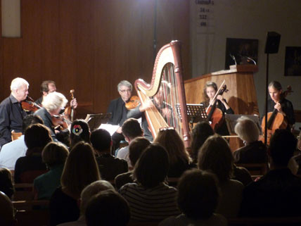 Le quatuor Martinu et Fabrice Pierre