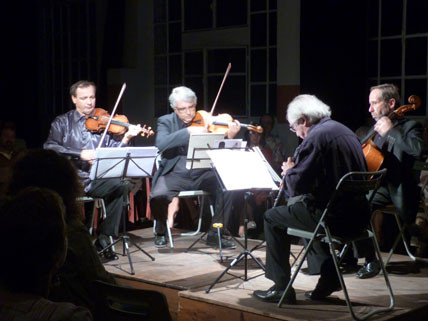 Maurice Bourgue, Philippe Muller, Dejan Bogdanovich et P.H. Xuereb