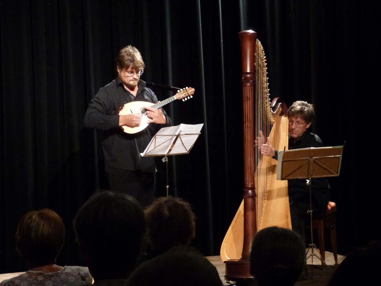 Vincent Beer-Demander, Mandoline / Fabrice Pierre, Harpe