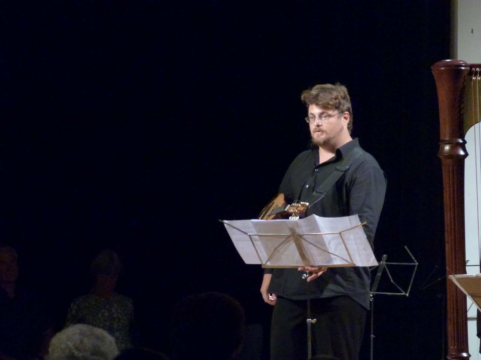 Vincent Beer-Demander, Mandoline