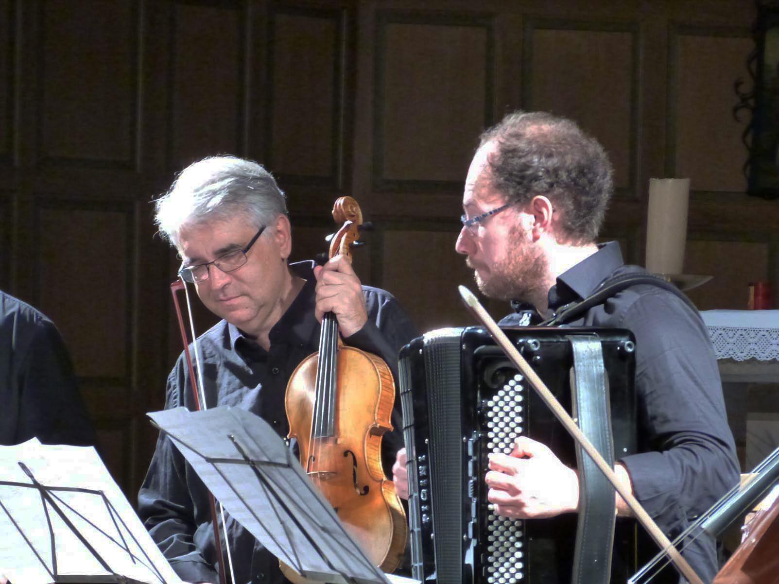 Pierre-Henri Xuéreb, Alto / Grégory Daltin, Accordéon