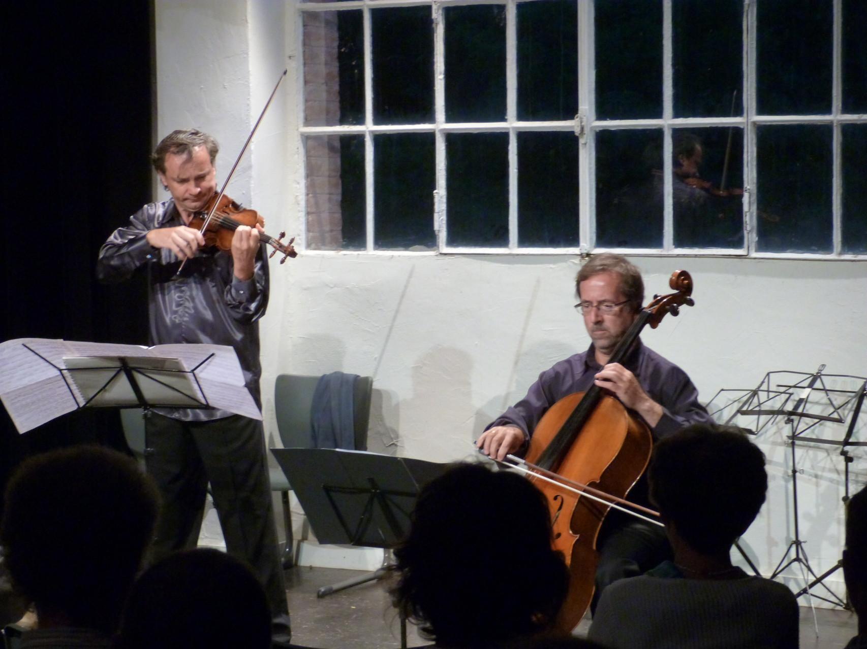 Dejan Bogdanovich et Yvan Chiffoleau