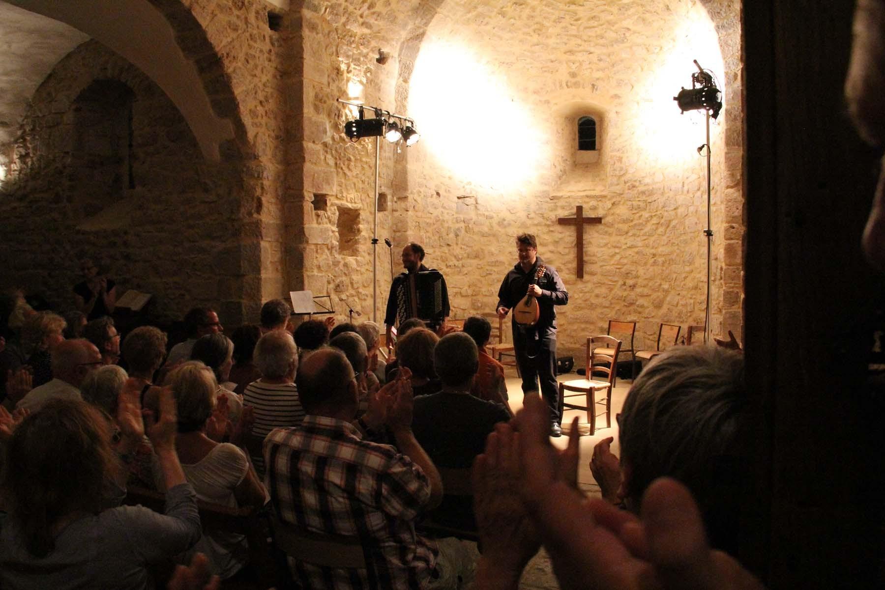 Gregory Daltin, Accordéon et Vincent Beer-Demander, Mandoline