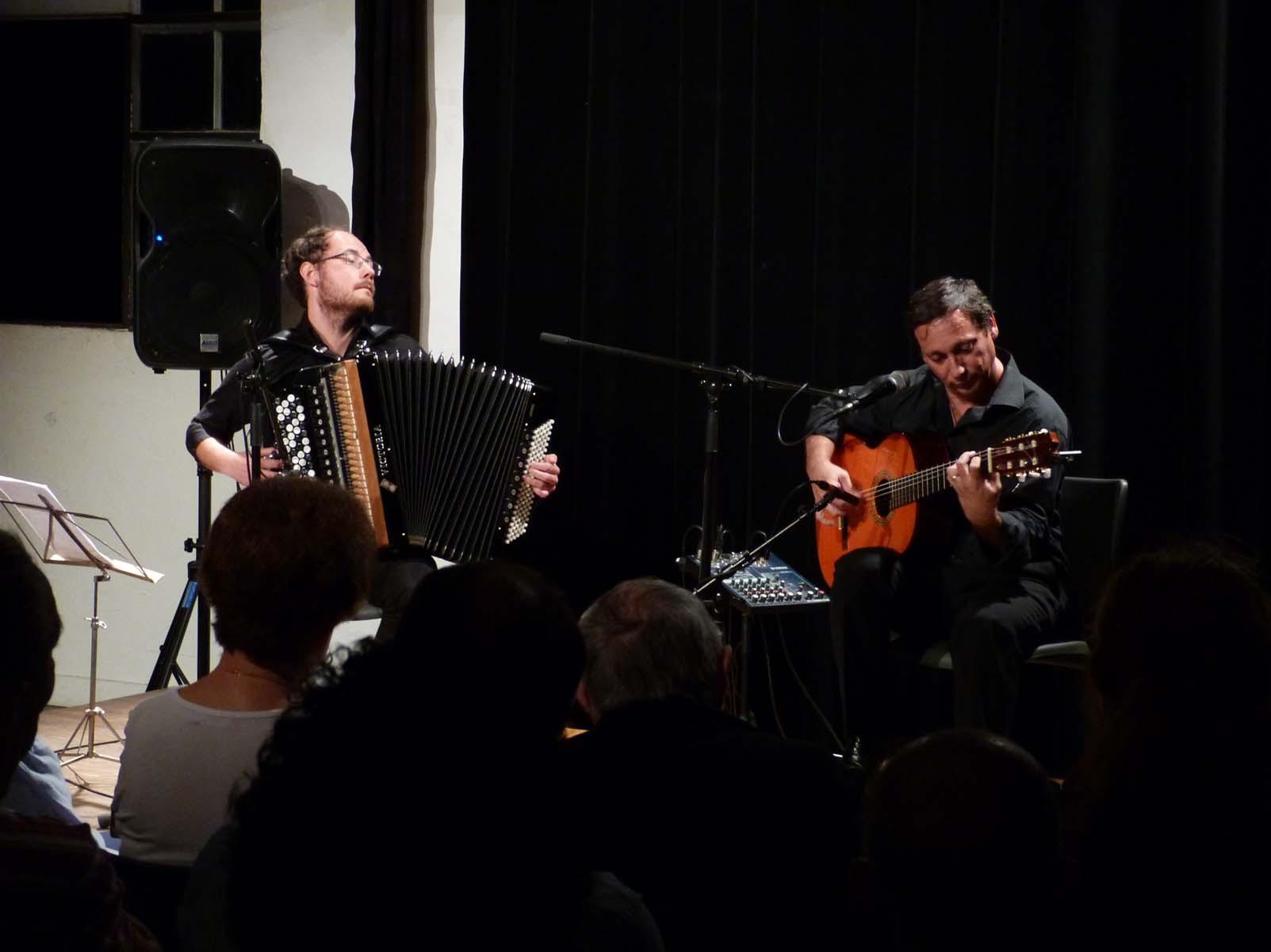 Kiko Ruiz, guitare flamenca / Grégory Daltin, accordéon