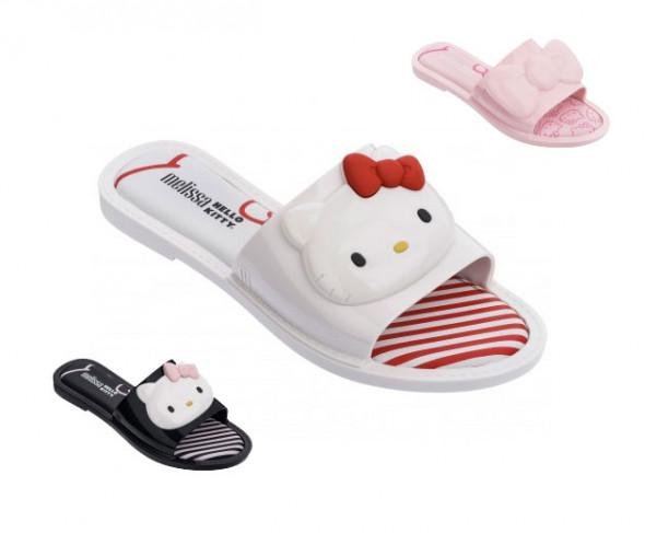 780ce34e5d4 Elas já fizeram parceria antes mas essa de agora está especialmente fofa   Hello Kittye a marca de calçados Melissa lançam coleção de 3 modelos a  tempo pras ...