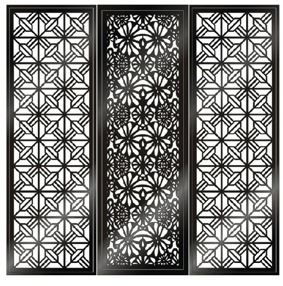 Decorative Wood Screens ~ China laser cutting decorative panels metal
