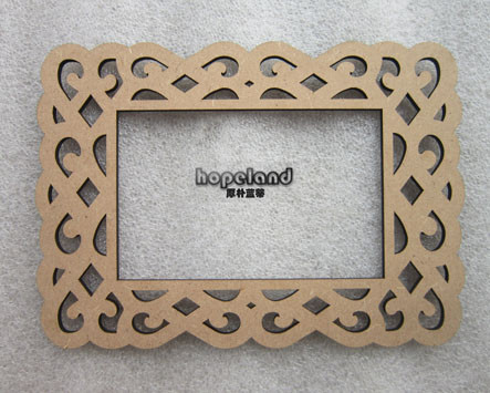 Photo frame-MDF laser cutting