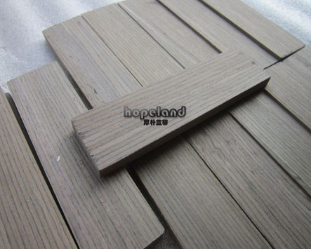 Wood rectangle laser cutting, walnut
