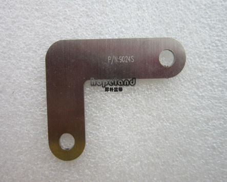 laser cutting and marking stainless steel part