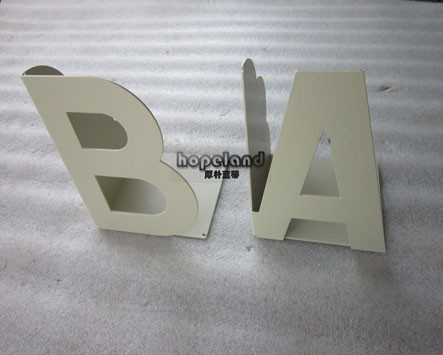 laser cut stainless steel, powder coating and bending