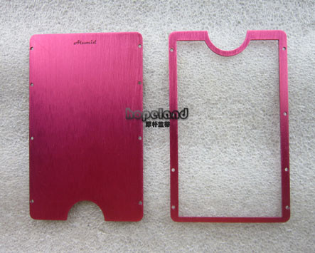 Aluminium laser cutting and anodizing