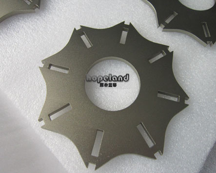 laser cut aluminium part with anodizing