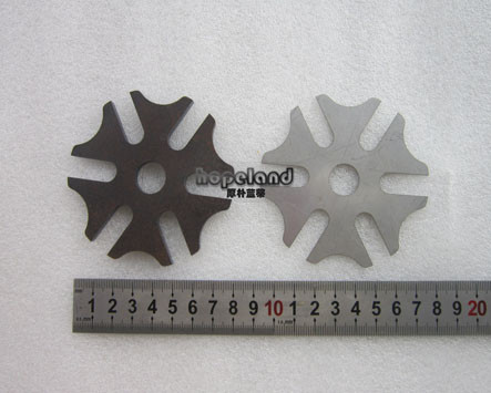 Mild steel laser cutting