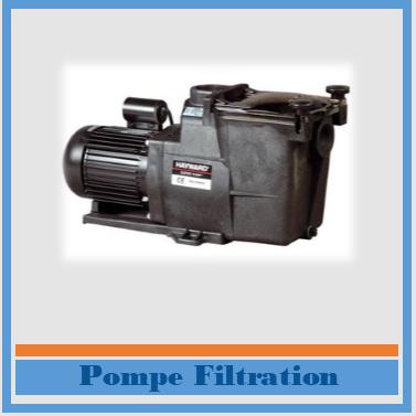 Pompe filtration piscine Reso Blue Lagon