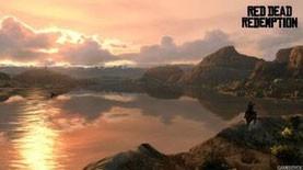 Sonneruntergang über dem Rio Grande. [Quelle: rockstargames.com]