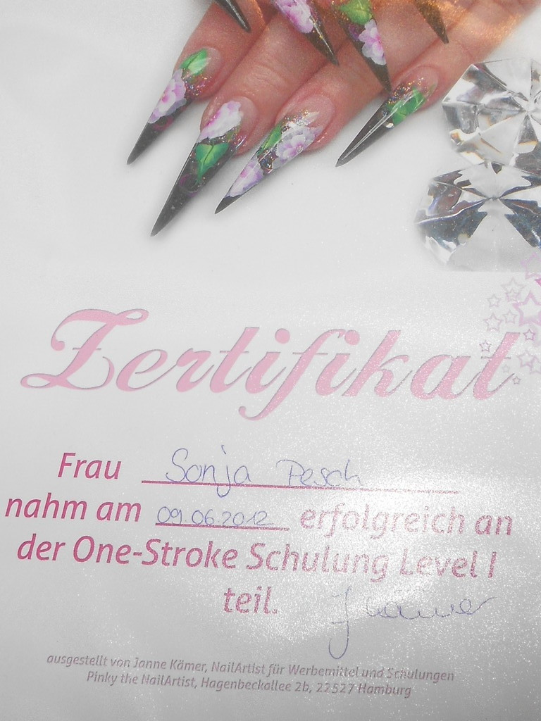 One Stoke Schulung bei Janne Pink