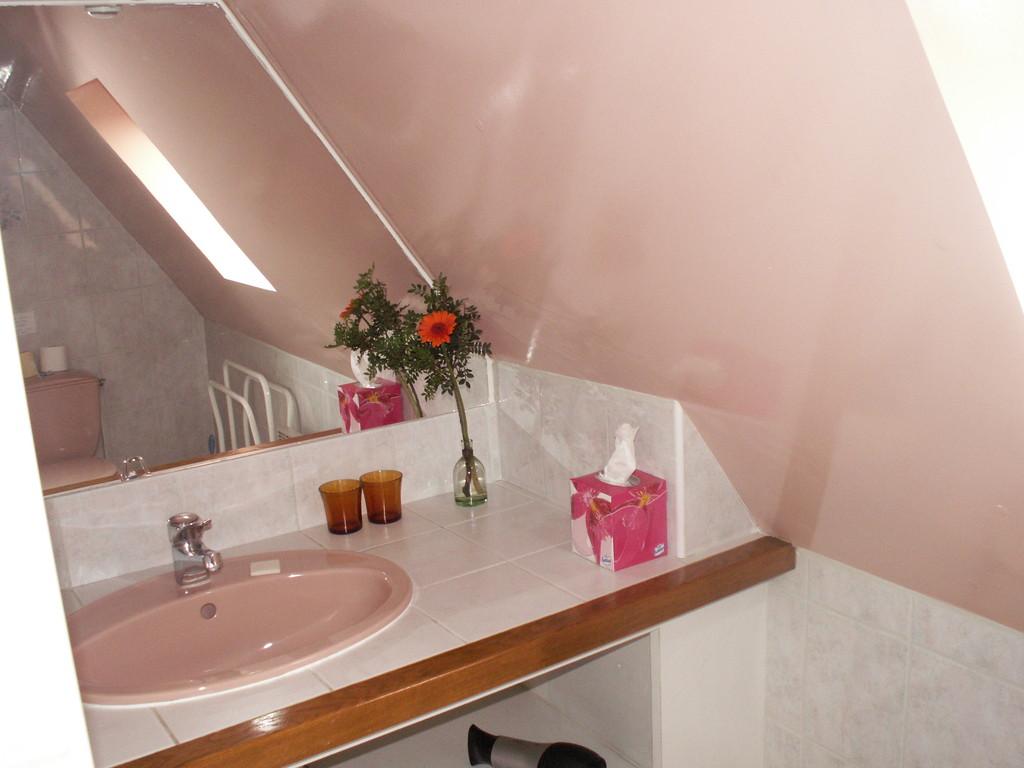 La salle d'eau de la chambre VAN GOGH - Chambre d'hôtes à Reilly