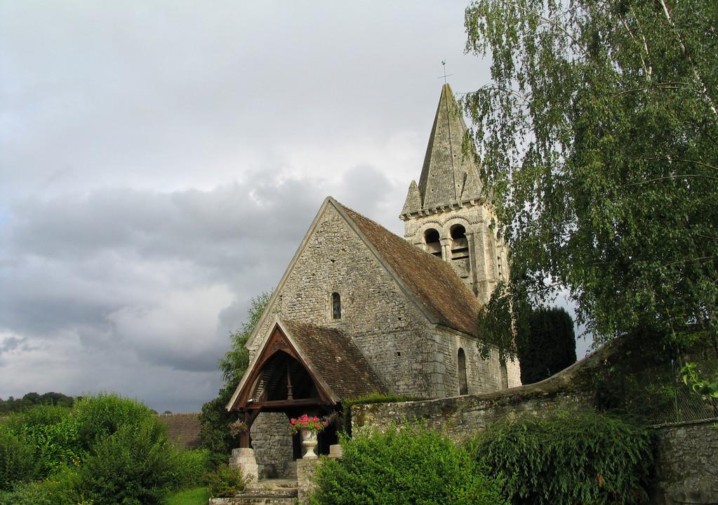 L'Eglise du XIéme siècle de Reilly