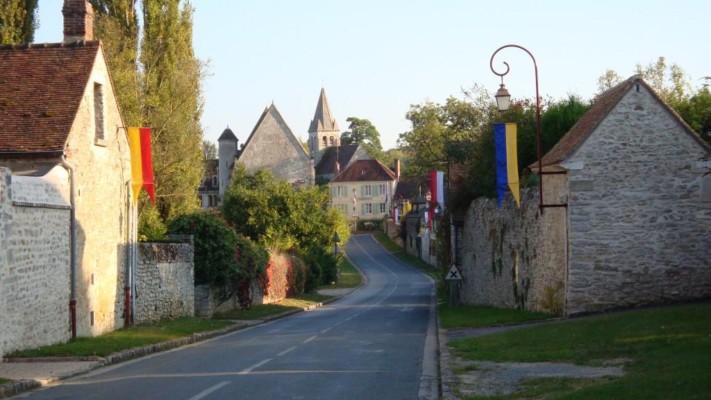 L'Abbaye et la Mairie de Reilly