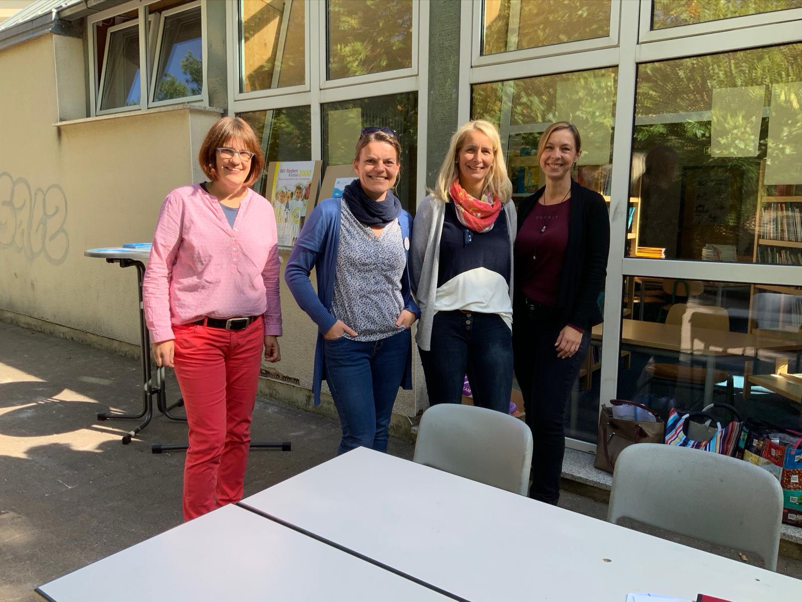 Christine Koplin, Sabina Benn, Kerstin Oesterwinter und Michaela Opfermann