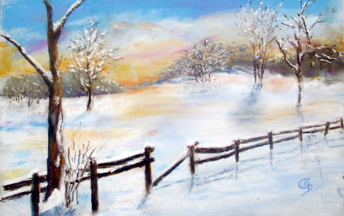 Winternachmittag (Christina Claus)