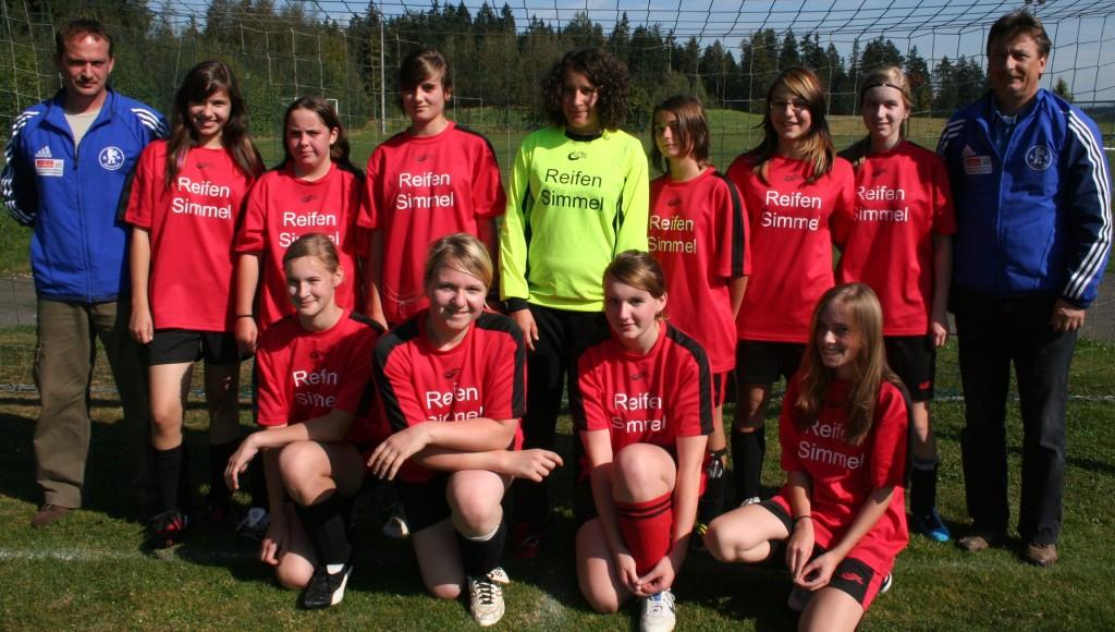 U17-Mädchen 2009/2010