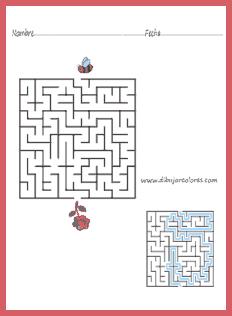 La dificultad, la diversión y el reto consisten en encontrar el camino directo para llegar a la salida del laberinto