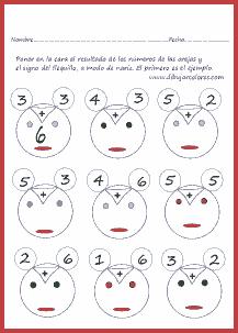 Una divertida manera de realizar ejercicios de sumar