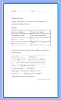 Ejercicios de palabras homófonas