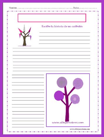 escribir historia sobre un 'árbol' caribolés