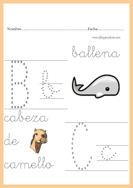 adquirir con la practica una letra uniforme en tamaño y forma