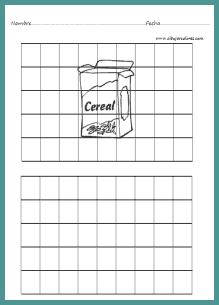 Facilita el dibujo y se acostumbran a las escalas de tamaño