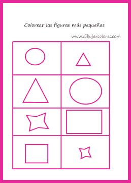 Círculos, triángulos, cuadrados
