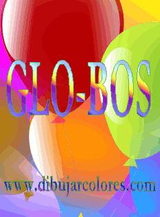 globos silabeado glo-bos