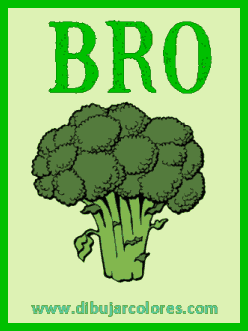 carta 1 de brocoli silabeado