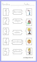relacionar  la expresión o sentimiento  del dibujo y repasar la escritura